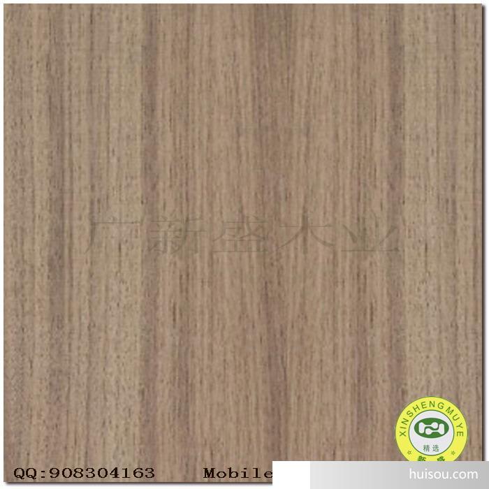 【广新盛】天然黑胡桃直纹饰面板-木皮;