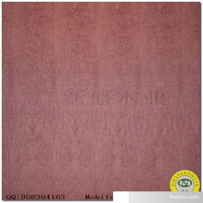 【广新盛】天然红木/花梨木雀眼原木木皮饰面板-贴面板