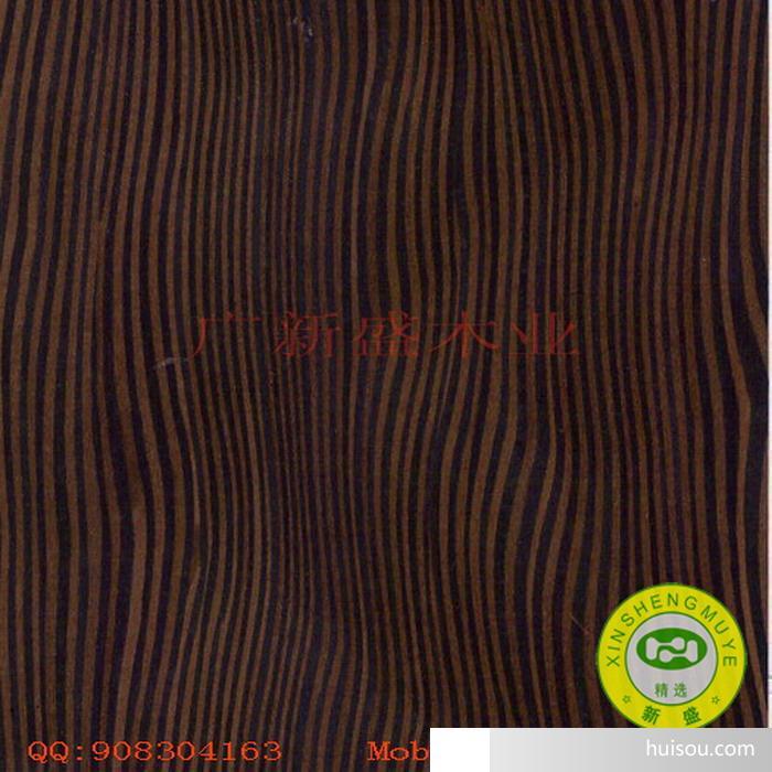 【广新盛携手兔宝宝】黑树榴2493n科技木皮/饰面板