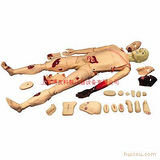 全功能创伤护理人模型,创伤护理模拟人,创伤模型