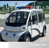 电动警务巡逻车4座带门警察巡逻车