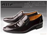温州盟牛皮鞋正品 亮光皮鞋时尚皮鞋 正装商务皮鞋宴会鞋 低邦鞋