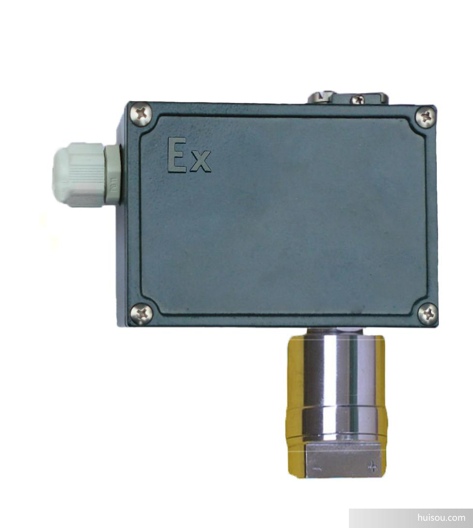 防爆型差压控制器采用膜片式和波纹管差压感压元件,防爆等级最高为ExedllCT6。可用于控制对感压元件无腐蚀作用的气体、液体或蒸汽等介质的llA、llB、llC类T1~T5组爆炸性气体混合物场所的同一压力源或不同压力源的压力差。控制器的设定值调节范围为0.1~1.6MPa,工作压力范围为0~3MPa。防腐型可用于腐蚀介质环境。