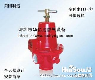 美国燃气减压阀1584mn rego液化气管道调压器图片