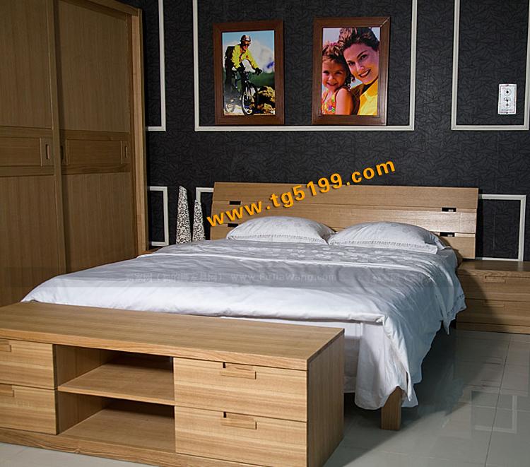 美式卧室组合家具 上海实木家具厂直销北欧绿荫实木沙发转角沙发可