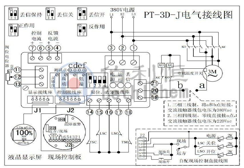 阀门 pt-3c-j三相调节型电动执行器控制模块