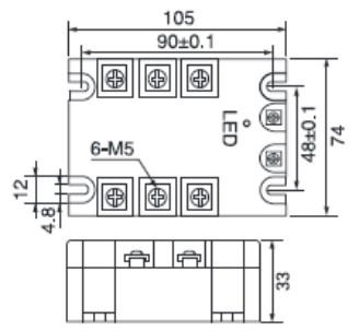 三相固态继电器