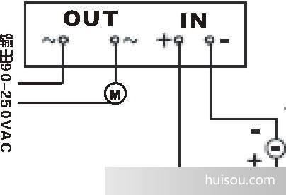 线路板固态继电器接线图