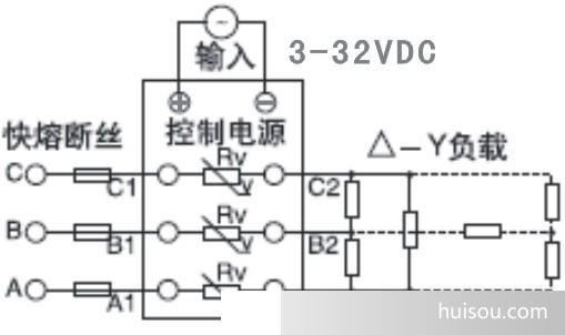 增强型三相固态继电器,交流固态继电器tsr-80da-r