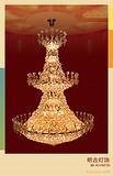 复式楼水晶吊灯,水晶大吊灯,别墅客厅吊灯
