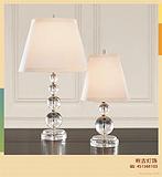 酒店大堂台灯,别墅客房台灯,样板间台灯,品牌水晶台灯