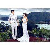 蝴蝶树婚纱摄影分享婚纱照构图经典经验