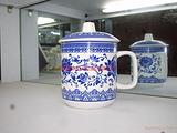 青花瓷杯、珠海陶瓷杯、珠海办公杯