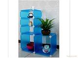 DIY居家用品新创意概念用品组合柜置物架收纳柜储物架塑料储物柜