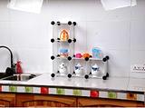 厨房置物架 自由组合柜 多功能收纳柜