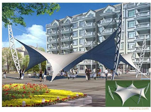 供应浙江钢结构,膜结构 宁波钢结构,膜结构 膜结构园林景观6