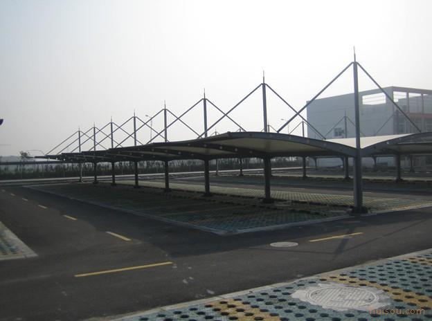 供应浙江钢结构,膜结构 宁波钢结构,膜结构 膜结构车棚3