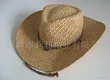 供应琅琊草帽,大沿草编帽子,牛仔草帽,空顶帽,太阳帽