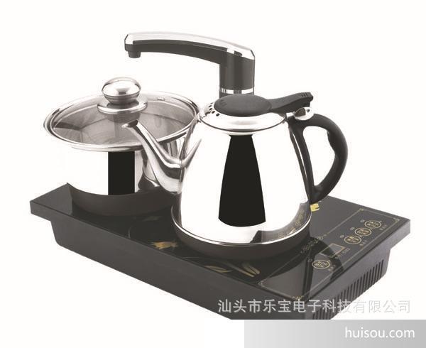 电热水壶批发 自动加水/煮水/消毒三合一不锈钢电茶壶
