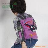 2011春季新款 青青果品牌灰太狼小童衬衫Q028