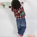 2011春季新款 青青果品牌肩章小童衬衫Q026
