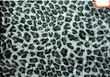豹纹压皱鞋材箱包面料