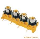 供应AV同芯插座 音视频插座