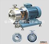 管线式高剪切分散乳化机|强忠单级乳化泵