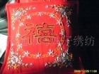 供应厂家批发直销定做加工最新手工丝带绣花靠垫