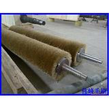 供应塑胶产品拉丝用的铜丝辊刷,拉丝机辊刷