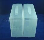 供应高档鞋盒 斜纹透明鞋盒 塑料鞋盒