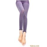 牛仔风潮打底裤(60D) 紫色