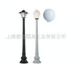供应塑料灯罩、塑料路灯栏杆滚塑模具及产品