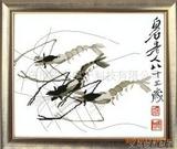 十字绣虾齐白石的虾十字绣动物高级十字绣