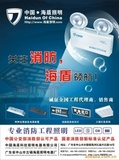 中国海盾照明工程消防应急灯吸顶灯支架灯盘投标