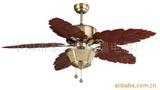 供应装饰吊扇吊扇灯风扇灯木叶扇