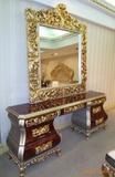 供应进口达芬奇欧最新款欧式梳妆台及镜子