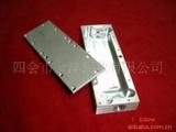 提供CNC加工铝合金机箱板太阳花铝合金