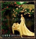 主题背景、手绘油画背景