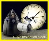 s供应外贸S-095投影钟出口