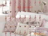 【精品热卖】可爱粉水晶珠帘12元/米