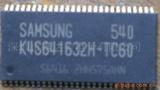 SAMSUNG三星SDRAM芯片4MX16