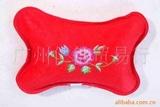 供应绒面防爆长枕型绣花保健电暖袋