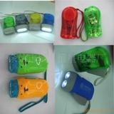 手压手电筒.LED手压电筒.手压双灯,手捏环保健身