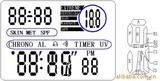 供应紫外线测试IC多功能紫外线探测手表