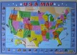 供应美国地图,3D地图,吸塑地图,凹凸地图【立体】