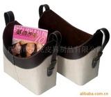 提供皮制杂志篮杂物篮