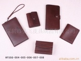 供应皮制作钱夹钱包可根据客户要求制作!