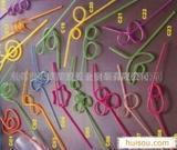 供应PVC吸管,PVC工艺吸管,PVC音符吸管