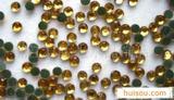供应优质水晶玻璃烫钻玻璃钻饰品配件